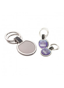 objet publicitaire - promenoch - Porte-clés en métal double  - Porte-clés Publicitaire