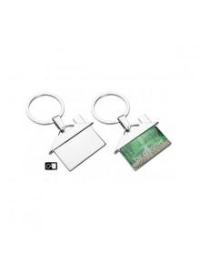 objet publicitaire - promenoch - Porte-clés maison en métal  - Porte-clés Publicitaire