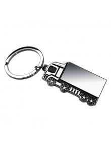 objet publicitaire - promenoch - Porte-clés Camion en métal   - Porte-clés Publicitaire