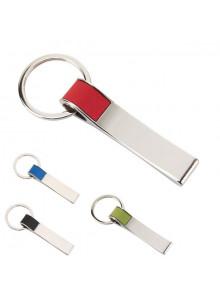 objet publicitaire - promenoch - Porte-clés Plaque Métal  - Porte-clés Publicitaire