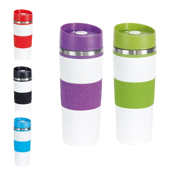 Color Publicitaire 400ml Thermos Publicitaire Mug Color 400ml Mug Thermos fYby76g