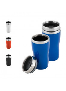 objet publicitaire - promenoch - Mug Thermos 250ml  - Mug Thermos Personnalisé