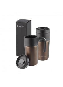 objet publicitaire - promenoch - Mug Thermos 330ml  - Mug Thermos Personnalisé