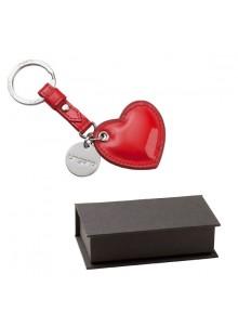 objet publicitaire - promenoch - Porte-clés Coeur Ungaro  - Cadeaux d'Affaires Luxe