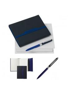 objet publicitaire - promenoch - Coffret Carnet A6 & Stylo Bille Cacharel  - Cadeaux d'Affaires Luxe