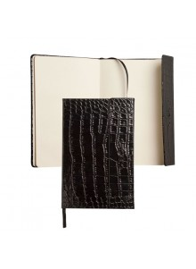 objet publicitaire - promenoch - Carnet de Notes A6 Ungaro  - Cadeaux d'Affaires Luxe