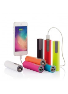 objet publicitaire - promenoch - Power Bank 2200 mAh Colors II  - Power Bank