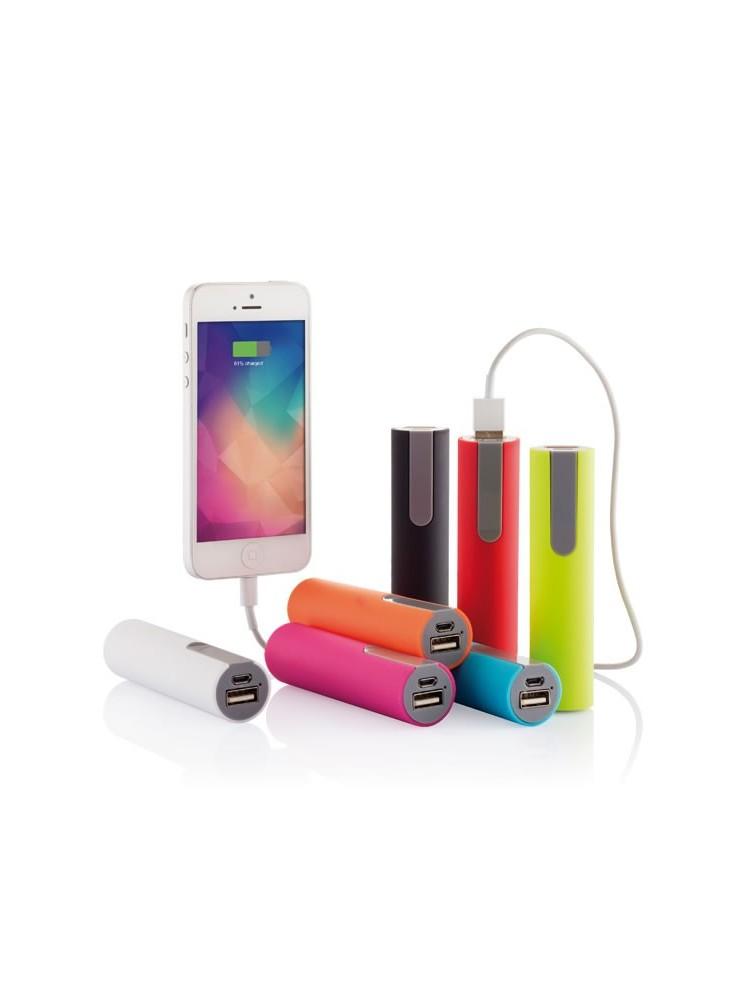 Power Bank 2200 mAh colors publicitaire