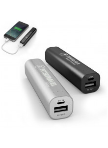 objet publicitaire - promenoch - Power Bank Aluminium 2200 mAh  - Power Bank