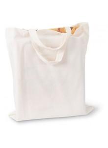 objet publicitaire - promenoch - Sac Shopping Coton Blanc  - Sac Shopping & Course