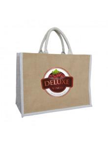 objet publicitaire - promenoch - Sac Jute Summer publicitaire  - Sac Shopping & Course
