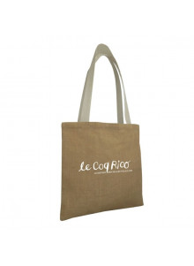 objet publicitaire - promenoch - Sac Shopping Jute Léa  - Sac Shopping & Course