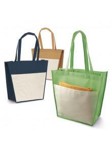 objet publicitaire - promenoch - Grand Sac Shopping Xbag publicitaire  - Sac Shopping & Course