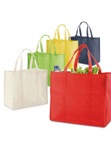 objet publicitaire - promenoch - Sac Shopping Ocilia  - Sac Shopping & Course
