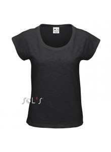 objet publicitaire - promenoch - Tee-shirt Scoop  - Tee-shirt Personnalisé
