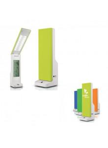 objet publicitaire - promenoch - Lampe Réveil Thermomètre  - Accessoires Bureau