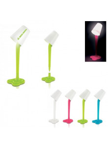 objet publicitaire - promenoch - Stylo Lampe + Support  - Stylo Bille Publicitaire