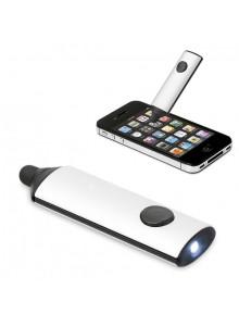 objet publicitaire - promenoch - Stylet Ecran Tactile Lampe  - Accessoires Smartphone