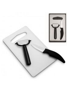 objet publicitaire - promenoch - Planche à Découper Ustensiles  - Ustensiles de Cuisine