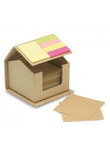 objet publicitaire - promenoch - Boite Maison Post It  - Accessoires Bureau