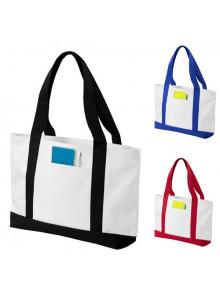 objet publicitaire - promenoch - Grand Sac Shopping publicitaire  - Sac Shopping & Course