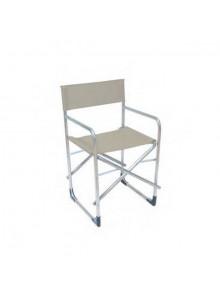 objet publicitaire - promenoch - Chaise Pliante Accoudoirs publicitaire  - Chaise Transat
