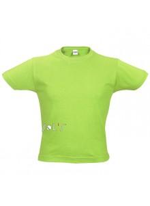 objet publicitaire - promenoch - Tee-shirt Regent kids  - Tee-shirt Personnalisé