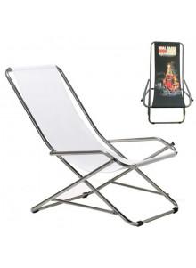 objet publicitaire - promenoch - Transat Pliant Accoudoirs  - Chaise Transat