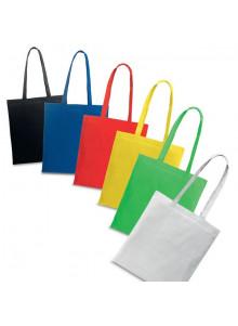 objet publicitaire - promenoch - Sac Shopping Coton Color  - Cadeaux Fête, mariage, Anniversaire