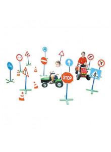 objet publicitaire - promenoch - 12 Panneaux de Signalisation  - Crèche collectivité petite enfance