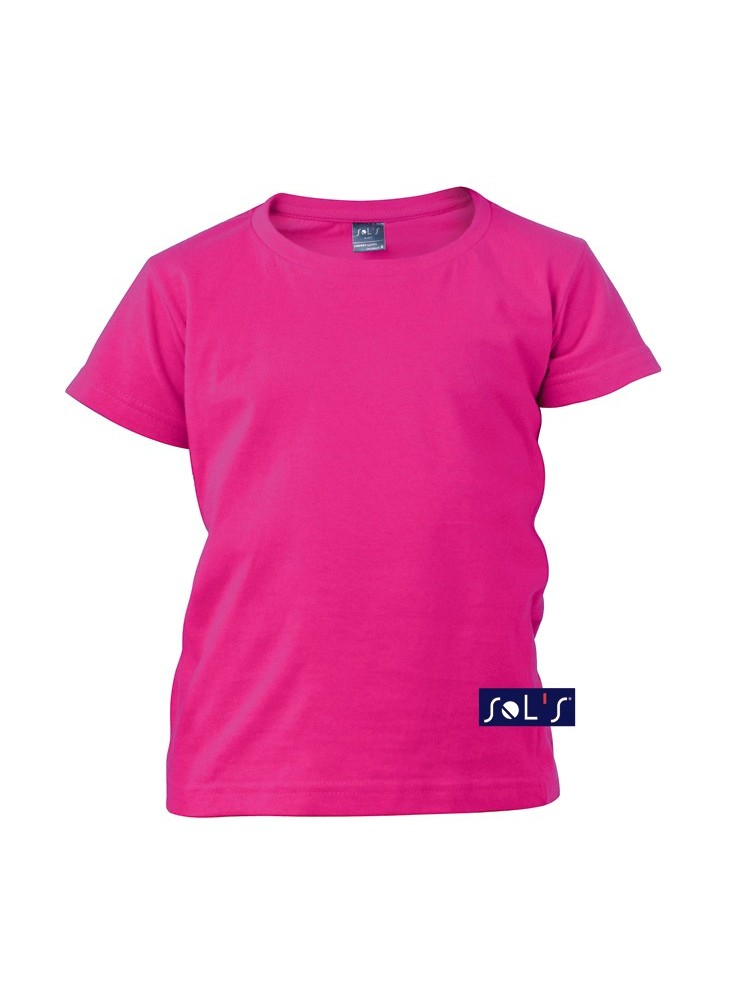 Tee-shirt Cherry Fille  publicitaire