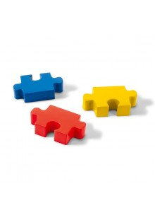 objet publicitaire - promenoch - Balle anti stress puzzle  - Balles anti-stress