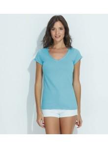 objet publicitaire - promenoch - Tee-shirt Mild  - Tee-shirt Femme M. Courtes
