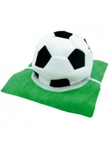 Chapeau publicitaire terrain de foot