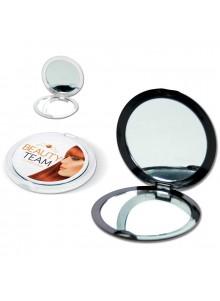 objet publicitaire - promenoch - Miroir double de poche  - Accueil