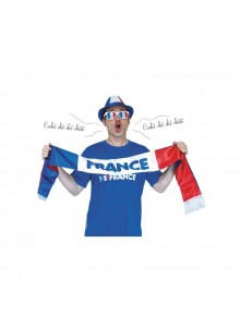 objet publicitaire - promenoch - Echarpe supporter tricolore publicitaire  - Accueil