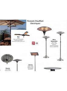 objet publicitaire - promenoch - Parasols chauffants électriques  - Accueil