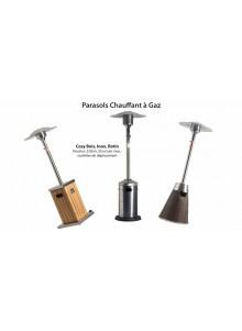 objet publicitaire - promenoch - Parasols chauffants à gaz  - Accueil