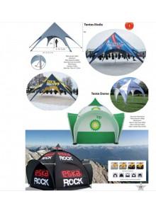 objet publicitaire - promenoch - Tentes personnalisables  - Accueil