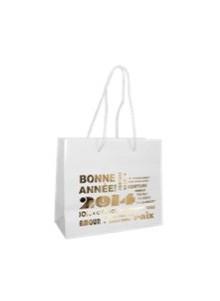 objet publicitaire - promenoch - Sackraft blanc avec vernis nacre  - Accueil