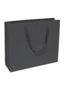 objet publicitaire - promenoch - Sac kraft luxe argent mat  - Accueil