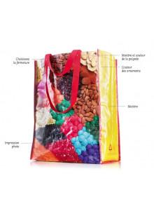 objet publicitaire - promenoch - Sac shopping écologique  - Accueil
