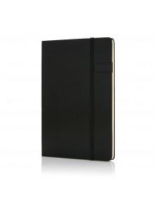 objet publicitaire - promenoch - Carnet de notes avec clé USB 4Go, noir  - Accueil