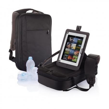 Sac à dos pour ordinateur portable B-Axis, noir/gris
