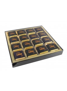 objet publicitaire - promenoch - coffret de 32 chocolats personnalisable   - Accueil