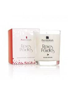 objet publicitaire - promenoch - Bougie parfumée RÊVES POUDRÉS de PHYDERMA PARIS  - Accueil
