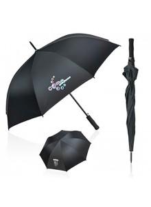 objet publicitaire - promenoch - Parapluie droit automatique SHELTER PLUS  - Accueil