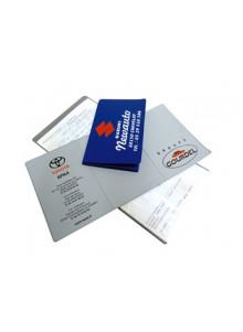 objet publicitaire - promenoch - Pochette carte grise  - Accueil