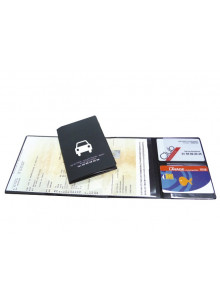 objet publicitaire - promenoch - Porte cate grise et carte essence  - Accueil