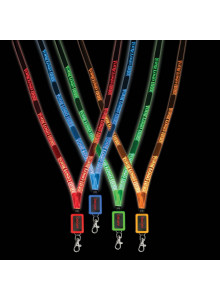 objet publicitaire - promenoch - Lanyard LED  - Accueil